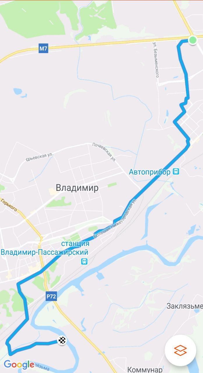 Велопрогулка выходного дня